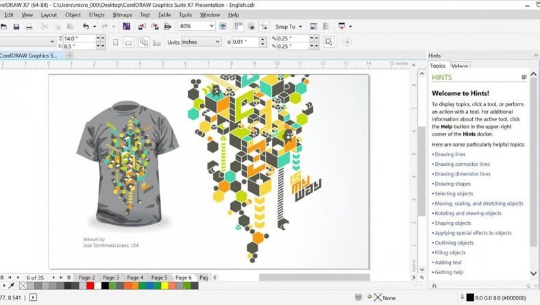 CorelDRAW Graphics Suite 2017 X9