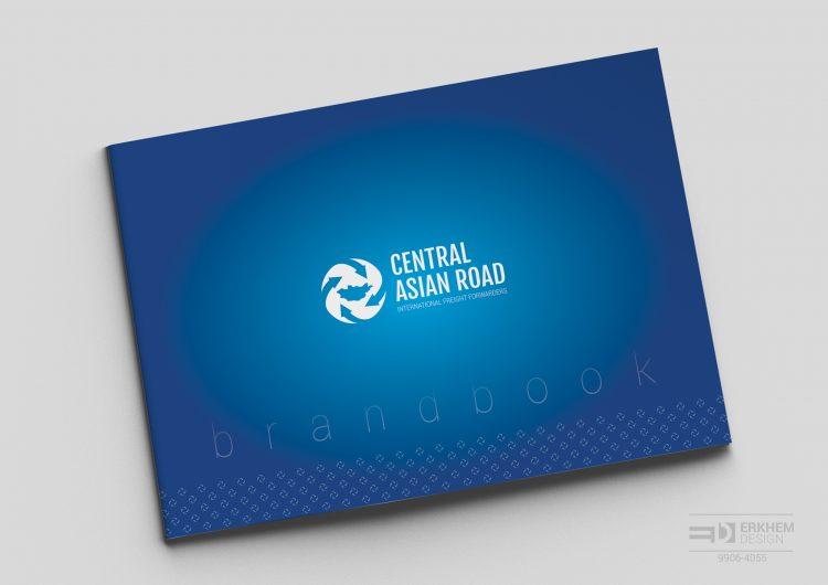 """""""Төв азийн зам"""" ХХК-ийн брэндбүүк, лого стандартыг бүтээснээ танилцуулж байна."""