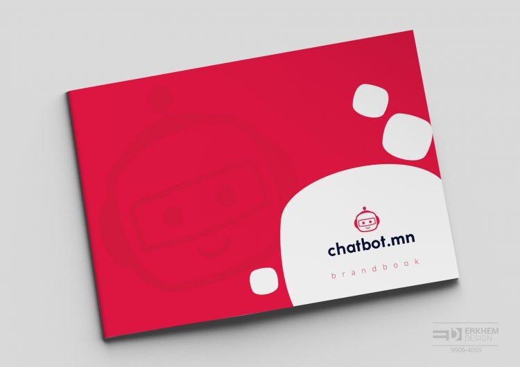 """""""Чатбот"""" ХХК-ийн брэндбүүк, лого стандартыг бүтээснээ танилцуулж байна."""